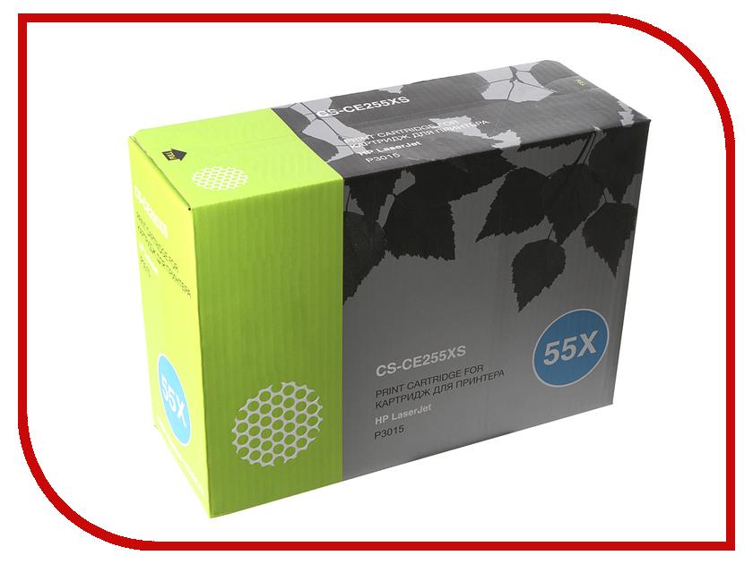 Картридж Cactus CS-CE255XS Black для HP LJ P3015 12500 стр картридж cactus 520 cs pgi520bk black