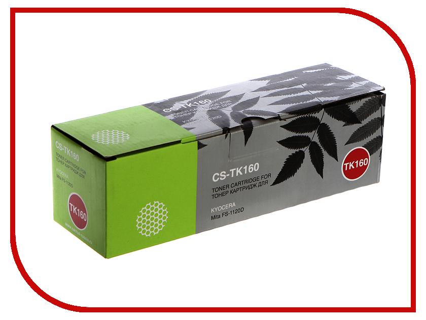 Картридж Cactus CS-TK160 Black для Kyocera Mita FS 1120D/1120DN/1120 2500 стр тонер cactus cs tk160