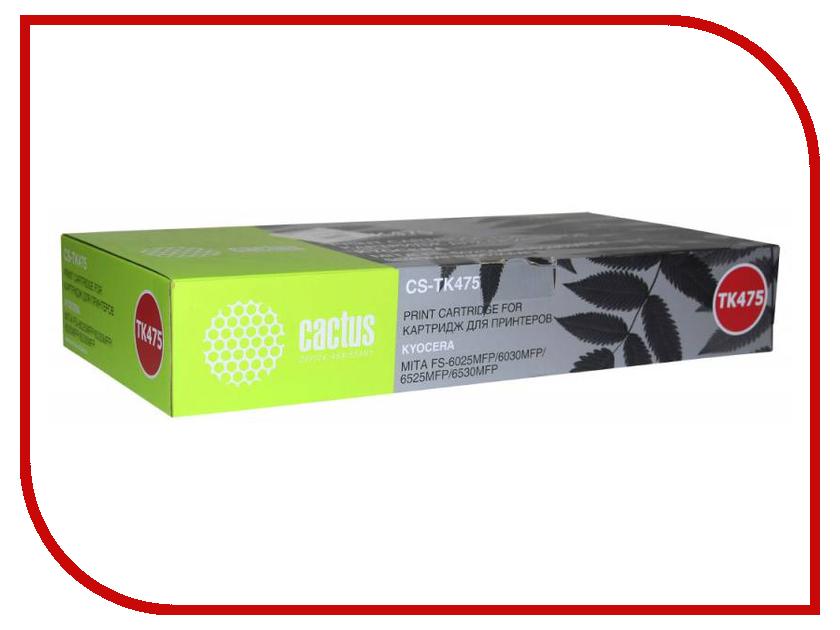 Картридж Cactus Black для FS-6025/B/6030 15000стр cactus cs tk475 black