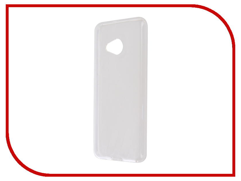 все цены на Аксессуар Чехол HTC U Play Svekla Silicone Transparent SV-HTUPLAY-WH онлайн