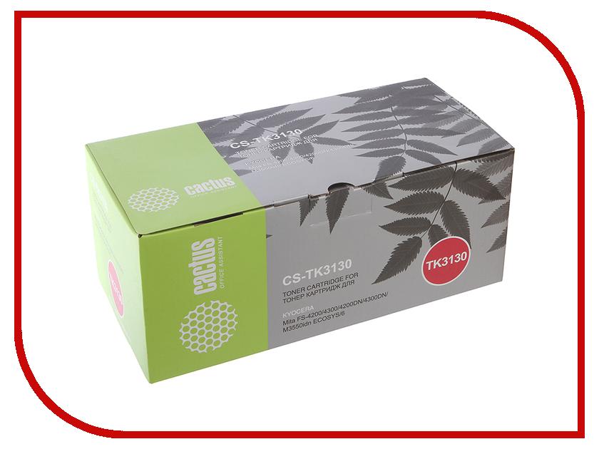 Картридж Cactus Black для Mita FS 4200/4300/4200DN/4300DN/M3550idn Ecosys/60idn картридж cactus 520 cs pgi520bk black