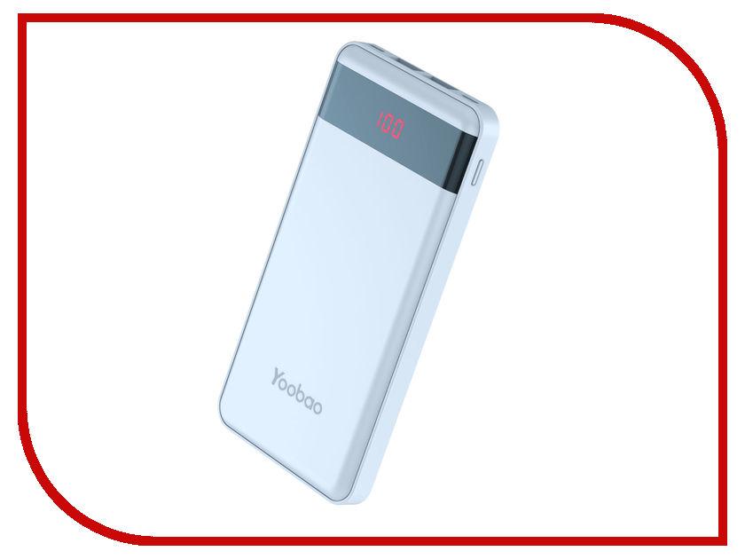 Аккумулятор Yoobao PL12 Pro 12000mAh Blue аккумулятор yoobao