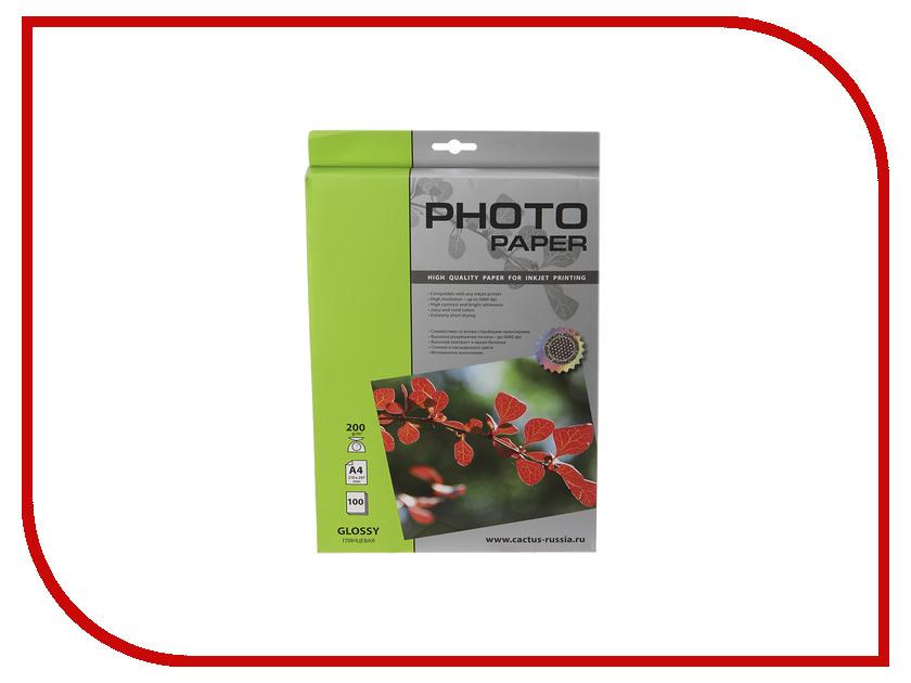 Фотобумага Cactus CS-GA4230100 A4 230g / m2