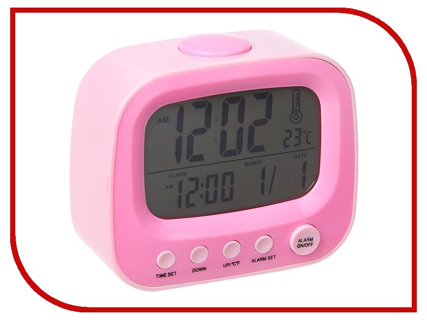 Часы СИМА-ЛЕНД Телевизор Pink 184541
