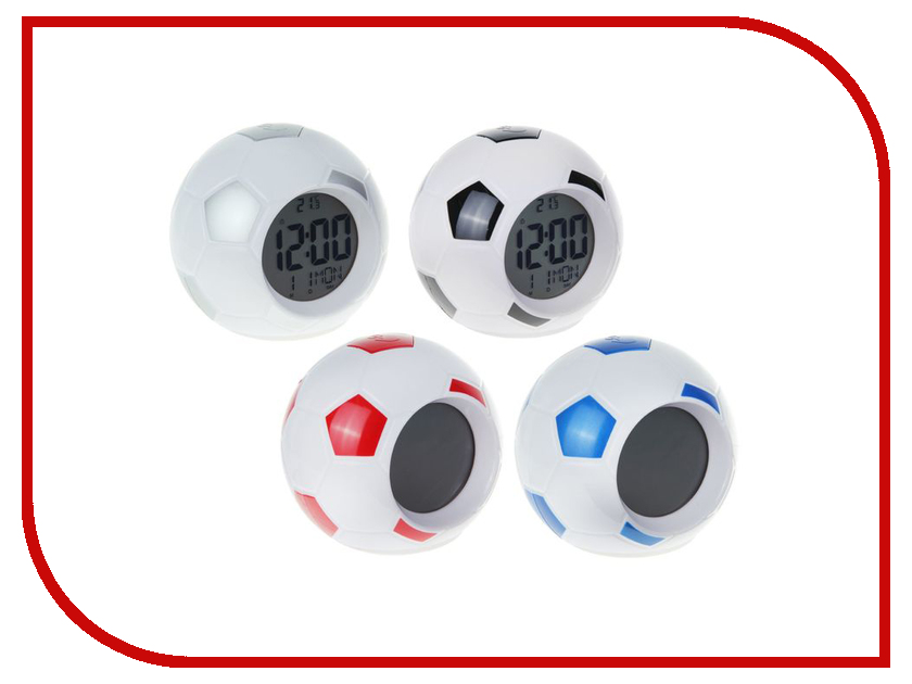 Часы СИМА-ЛЕНД Футбольный мяч Микс 1258339