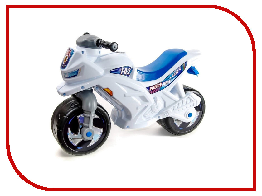 Беговел RT Racer RZ 1 Полиция White-Blue ОР501в3