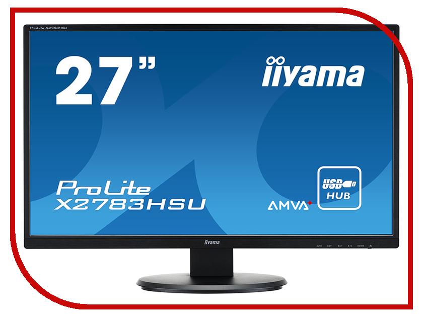 Монитор iiyama ProLite X2783HSU-B1 монитор iiyama prolite xb2483hsu b1