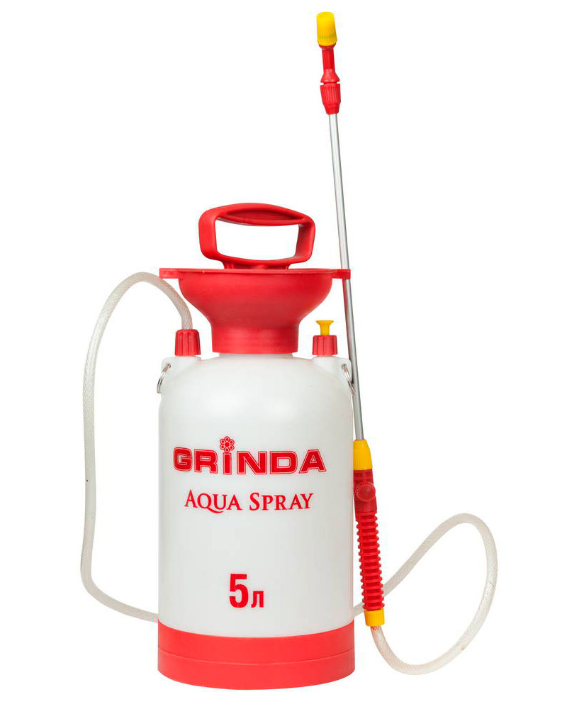 Опрыскиватель Grinda Aqua Spray 5л 8-425115 z01 опрыскиватель grinda clever spray 5л 8 425155 z01