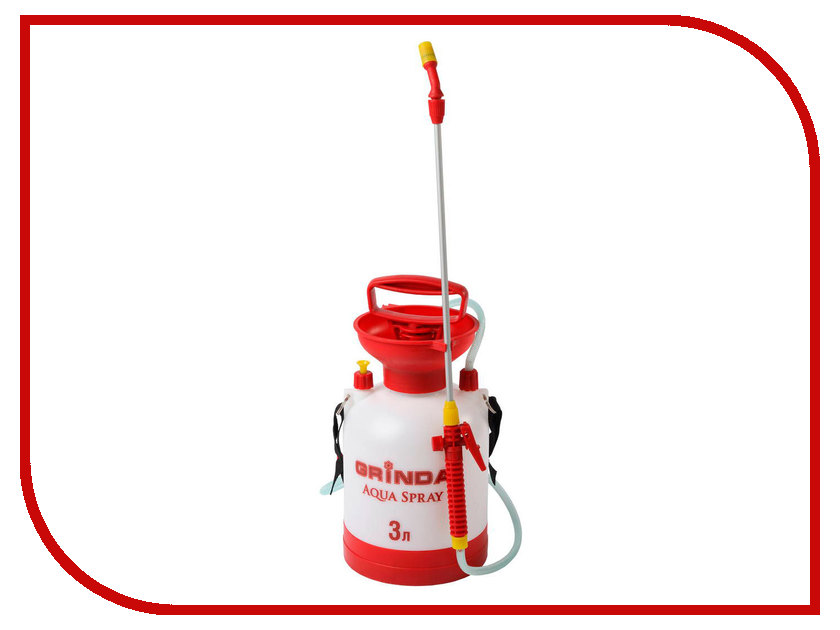 Опрыскиватель Grinda Aqua Spray 3л 8-425113 z01 опрыскиватели садовые aqua spray 5л grinda 8 425115 z01