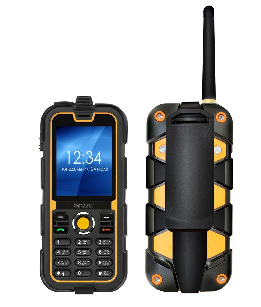 Сотовый телефон Ginzzu R62 Black-Orange