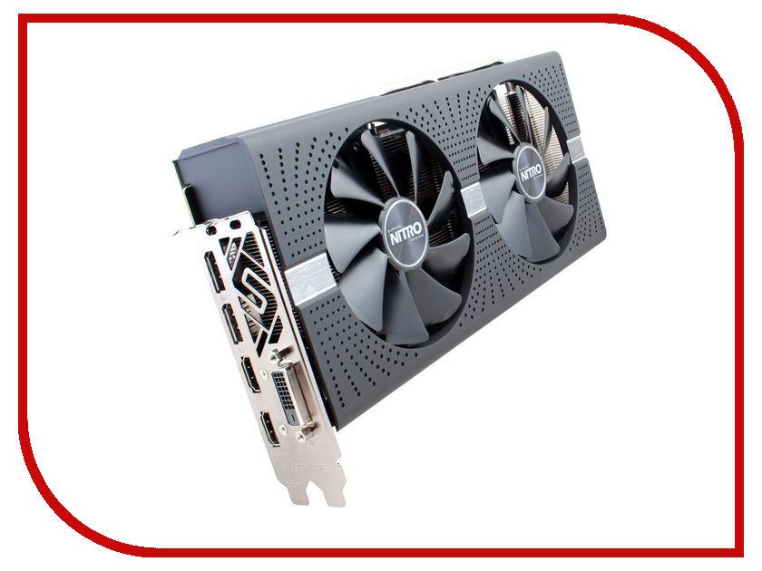 Видеокарта Sapphire Nitro+ Radeon RX 580 4G 1380Mhz PCI-E 3.0 4096Mb 7000Mhz 256 bit DVI HDMI 11265-07-20G видеокарта asus amd radeon rx 580 1360mhz 4096mb 7000mhz 256 bit dvi hdmix2 hdcp dual rx580 o4g
