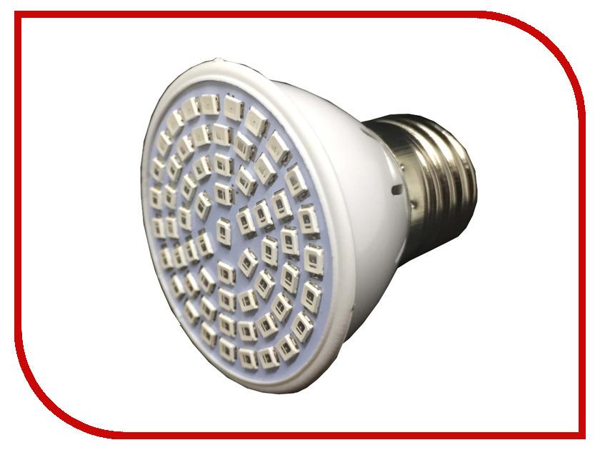 Светодиодная фитолампа Espada Fito E27-60-12W 220-240V светодиодная фитолампа espada fito e27 60 12w 220 240v