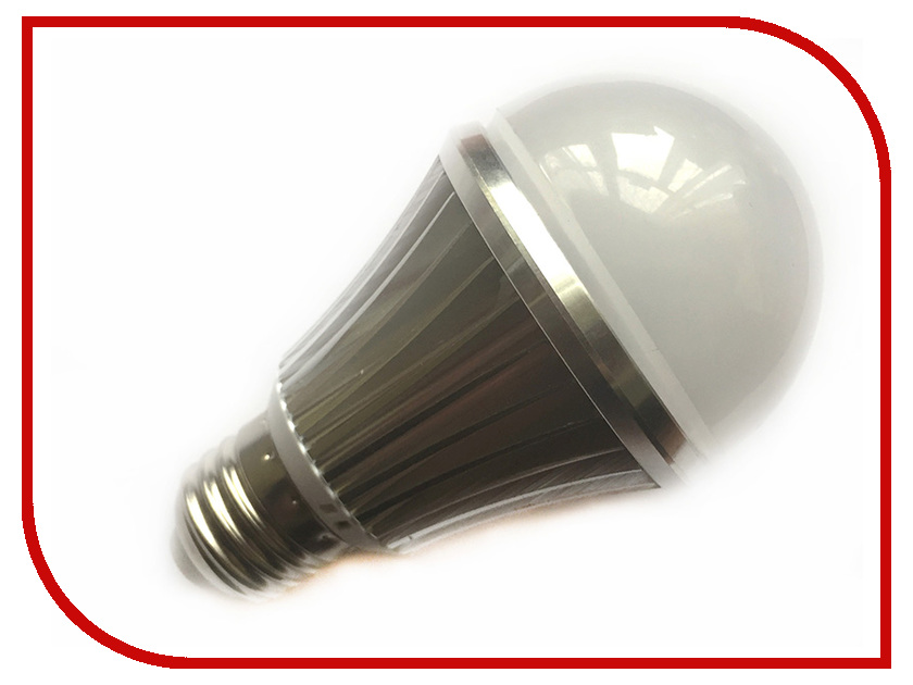 Лампочка Espada E27-6-L-6W 100-265V с датчиком освещения светодиодная фитолампа espada fito e14l 6 6w 85 265v