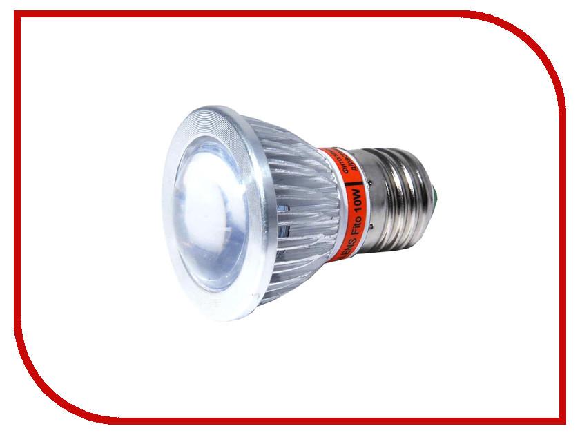 Светодиодная фитолампа Espada Fito E27L-10-10W 85-265V светодиодная фитолампа espada fito led e14 5w 85 265v