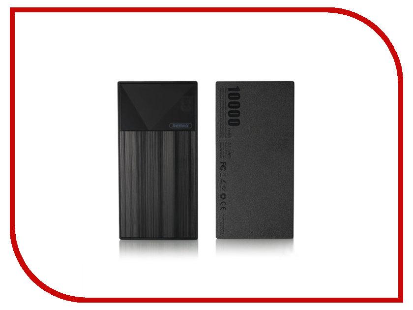 Аккумулятор Remax Thoway RPP-55 Power Bank 10000mAh Black аккумулятор finity dual usb 10000mah рифленый matte black