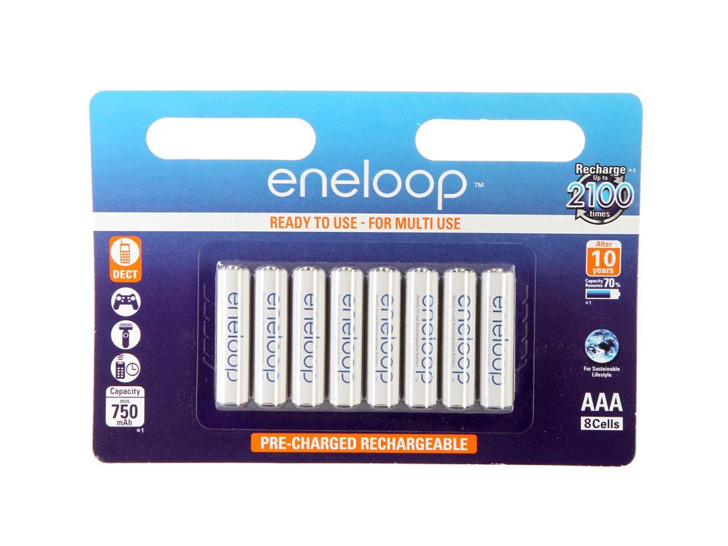 Аккумулятор AAA - Panasonic Eneloop 750 mAh (8 штук) BK-4MCCE/8BE