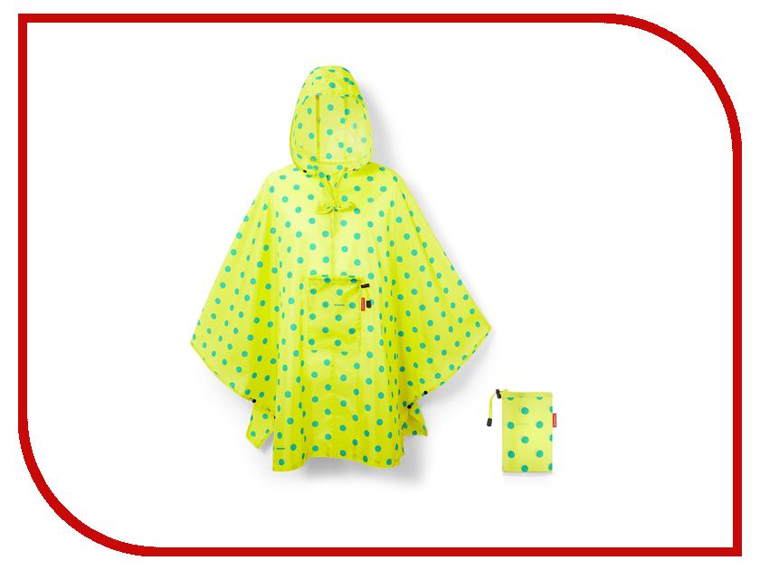 Плащ-дождевик Reisenthel Mini Maxi р.UNI 141x93cm Lemon Dots AN2025 дождевики reisenthel дождевик mini maxi azure dots