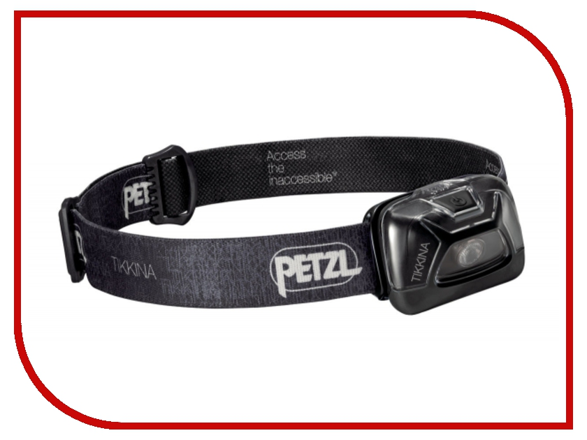Фонарь Petzl Tikkina E91ABA Black petzl duo led 14