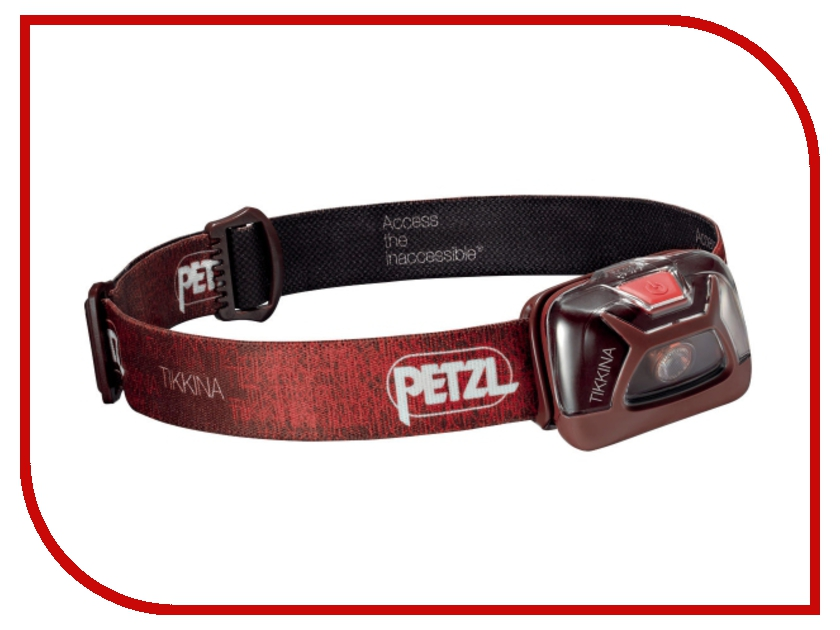 Фонарь Petzl Tikkina E91ABB Red petzl duo led 14
