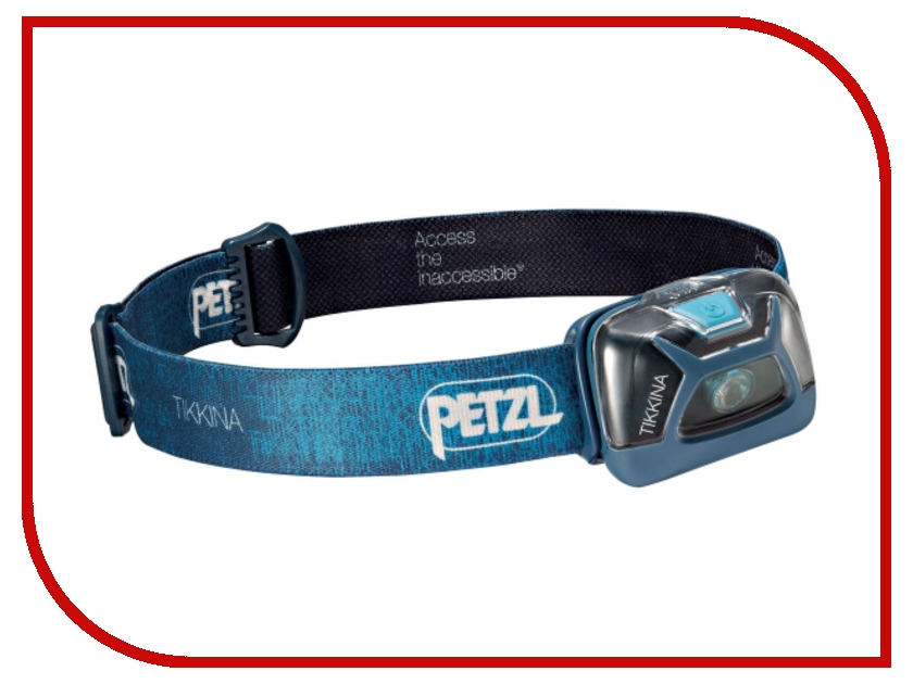 petzl corax Фонарь Petzl Tikkina E91ABC Blue