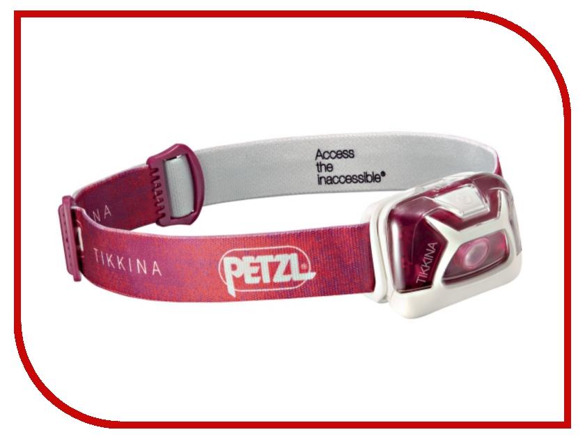 petzl corax Фонарь Petzl Tikkina E91ABD Pink