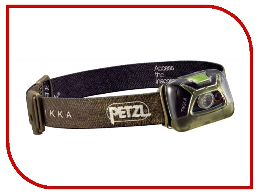 Фонарь Petzl Tikka E93AAB Green petzl duo led 14