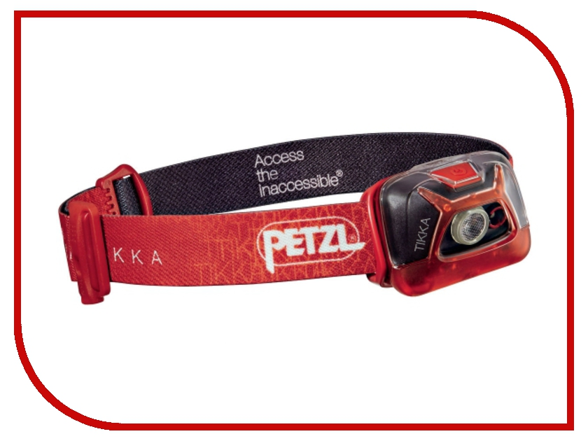 Фонарь Petzl Tikka E93AAC Red petzl duo led 14
