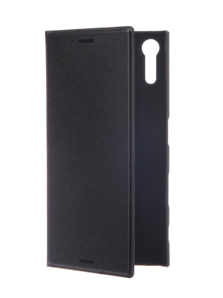 Аксессуар Чехол Brosco для Sony Xperia XZs Black XZS-BOOK-BLACK