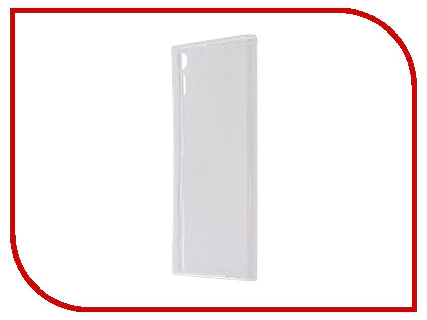 Аксессуар Чехол Sony Xperia XZs BROSCO Silicone Transparent XZS-TPU-TRANSPARENT 1 transparent