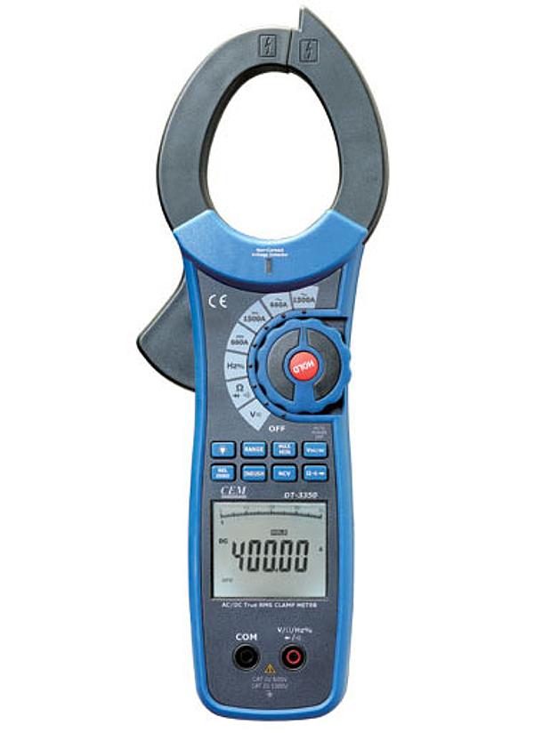 Токовые клещи CEM DT-3352 термометр cem dt 131