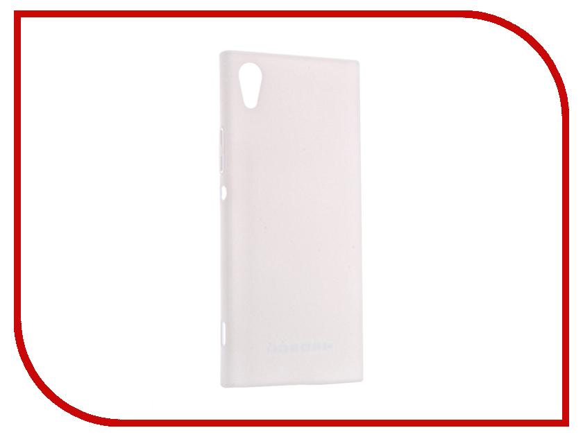 Аксессуар Чехол Sony Xperia XA1 BROSCO Soft-touch White XA1-4SIDE-ST-WHITE аксессуар чехол sony xperia x compact soft touch brosco white xc softtouch white