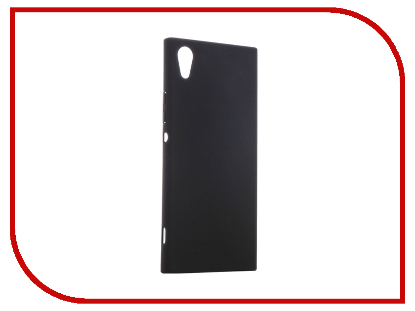 Аксессуар Чехол для Sony Xperia XA1 BROSCO Soft-touch Black XA1-4SIDE-ST-BLACK аксессуар чехол brosco soft touch для apple iphone 7 black ip7 4side softtouch black