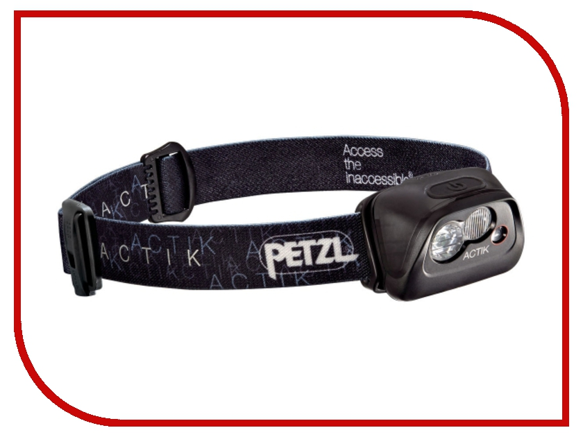Фонарь Petzl Actik E99AAA Black petzl duo led 14