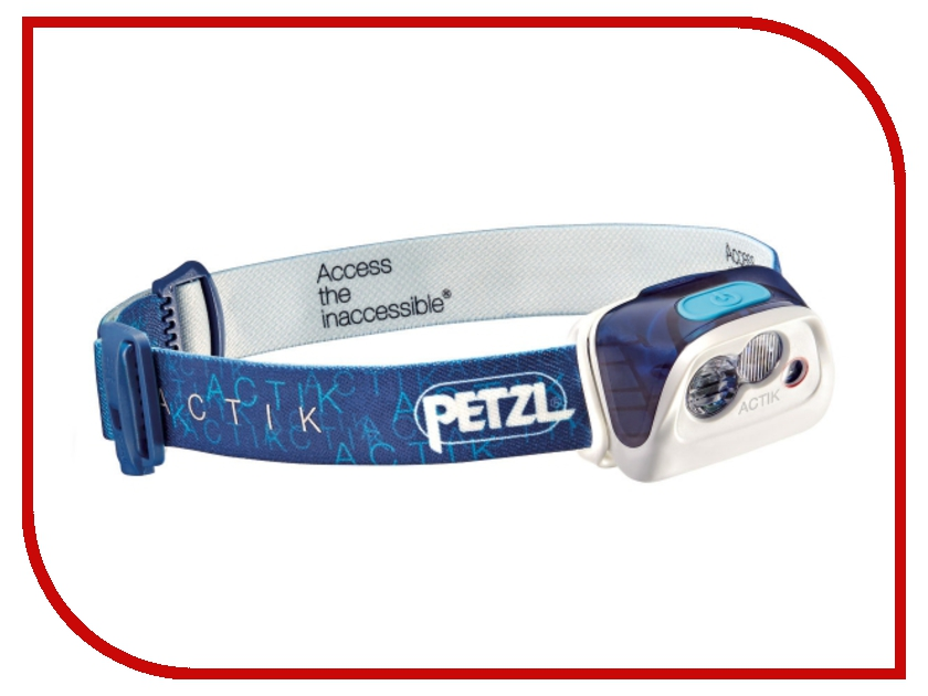 Фонарь Petzl Actik E99AAC Blue petzl duo led 14