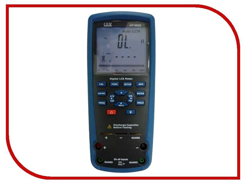 Мультиметр CEM DT-9935 siger автокресло siger кокон isofix 9 25 кг красный