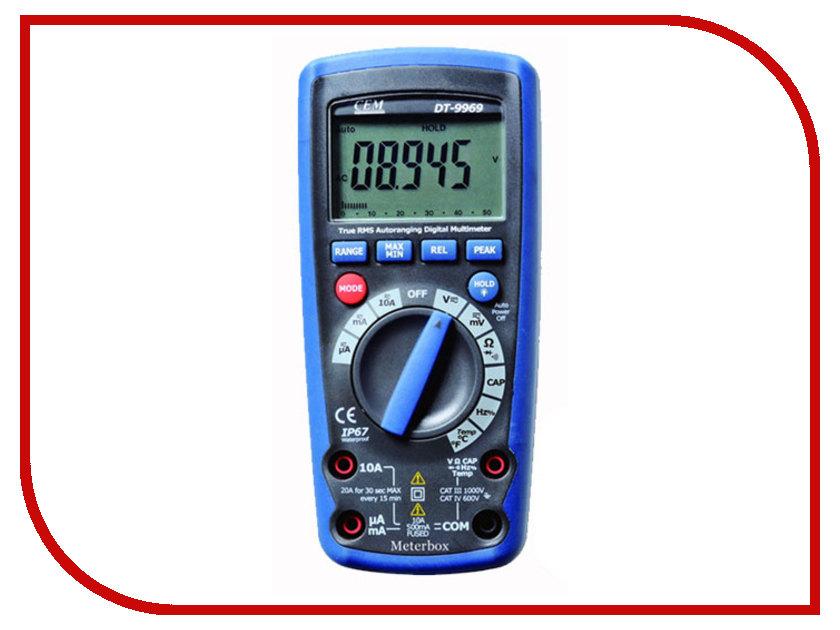 Мультиметр CEM DT-9969 мультиметр cem at 9955