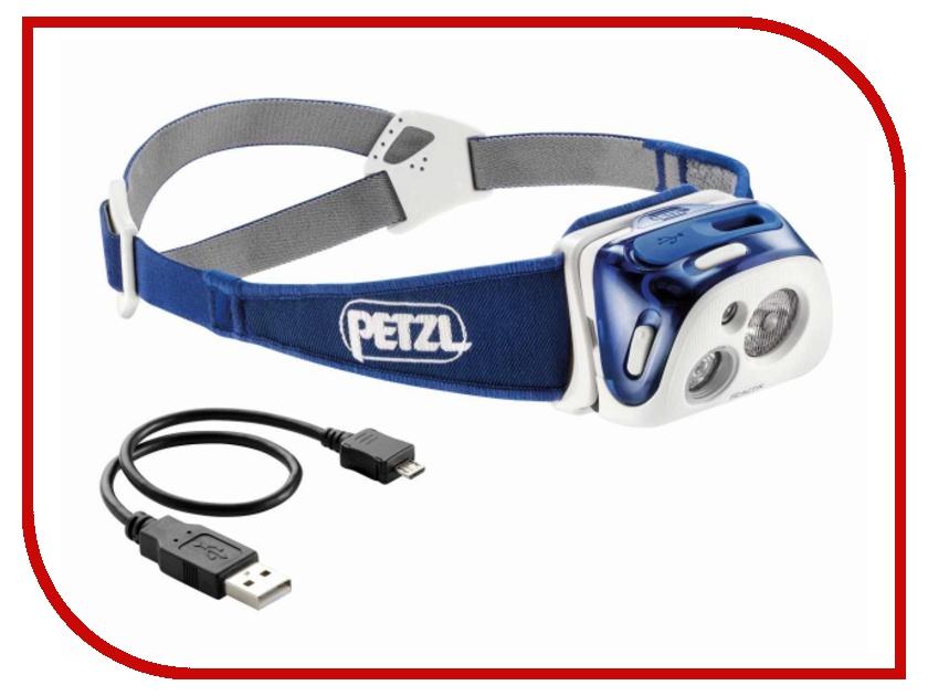 petzl клюв для aztar blueice u92000 Фонарь Petzl Reactik E92HMI Blue