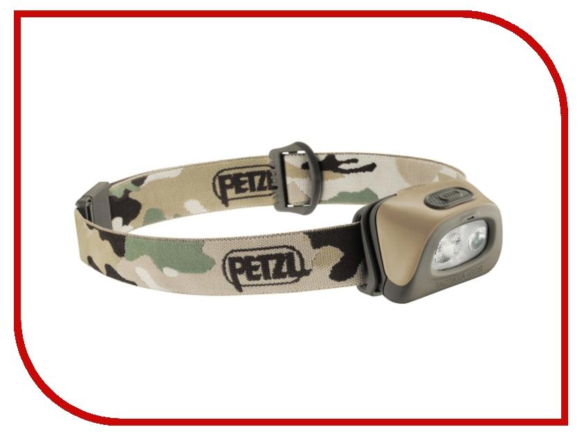 Фонарь Petzl Tactikka + RGB E89ABB Camouflage фонарь petzl tactikka rgb e89abc desert