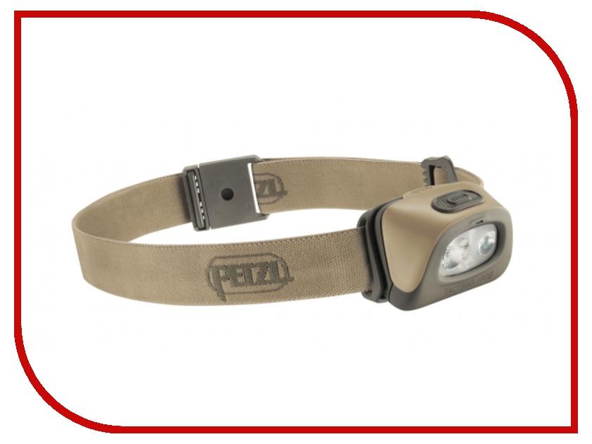 petzl corax Фонарь Petzl Tactikka + RGB E89ABC Desert