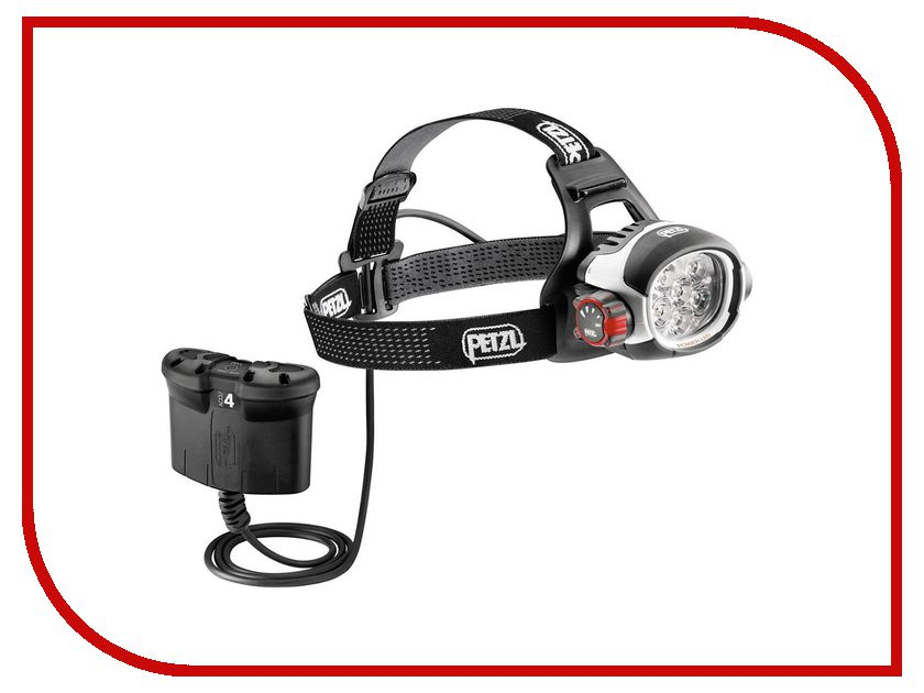 Фонарь Petzl Ultra Rush Belt E52 B White-Black petzl stop sb