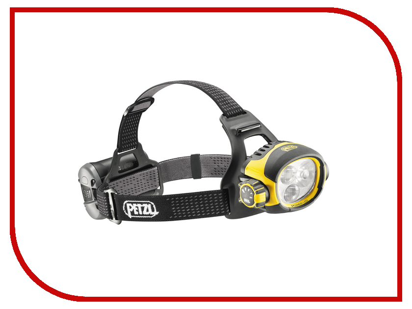 Фонарь Petzl Ultra Vario E54 H Yellow-Black