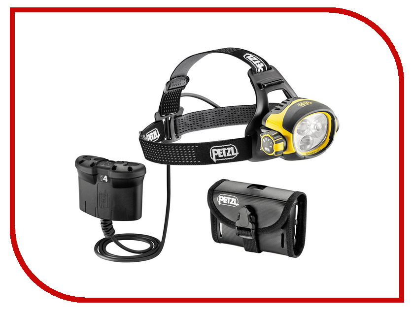 Фонарь Petzl Ultra Vario Belt E54 B Yellow-Black petzl stop sb