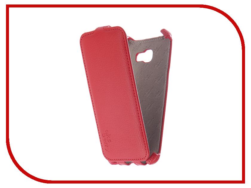 Аксессуар Чехол Samsung SM-A520F Galaxy A5/A5 Duos 2017 Aksberry Red мобильный телефон samsung galaxy a5 2016 16 gb sm a 510 f розовый