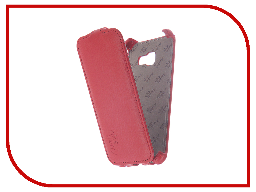 Аксессуар Чехол Samsung SM-A320F Galaxy A3/A3 Duos 2017 Aksberry Red asling tpu glitter back cover case for iphone 5 5s se