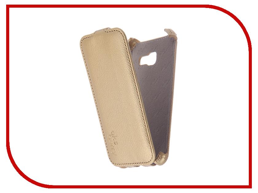 все цены на Аксессуар Чехол Samsung SM-A320F Galaxy A3/A3 Duos 2017 Aksberry Gold