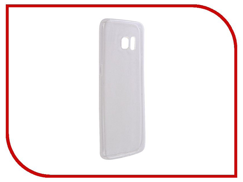 Аксессуар Чехол Samsung SM-G935 Galaxy S7 Edge Aksberry Silicone 0.33mm Transparent
