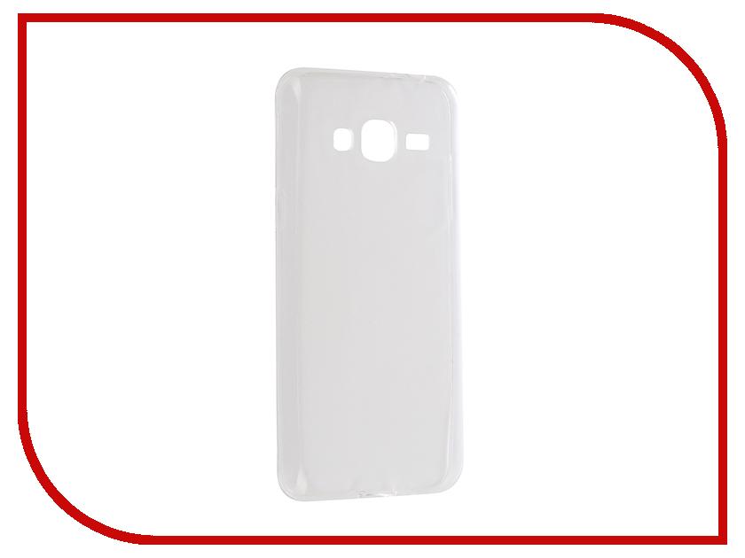 Аксессуар Чехол Samsung Galaxy J3 2016 Aksberry Silicone 0.33mm Transparent аксессуар чехол samsung galaxy a3 2017 cojess tpu 0 3mm transparent
