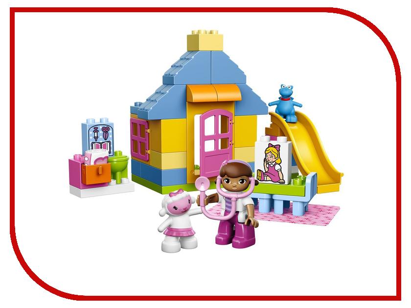 Конструктор Lego Duplo Двор клиники доктора Плюшевой 10606 lego lego конструктор duplo ветеринарная клиника доктора плюшевой