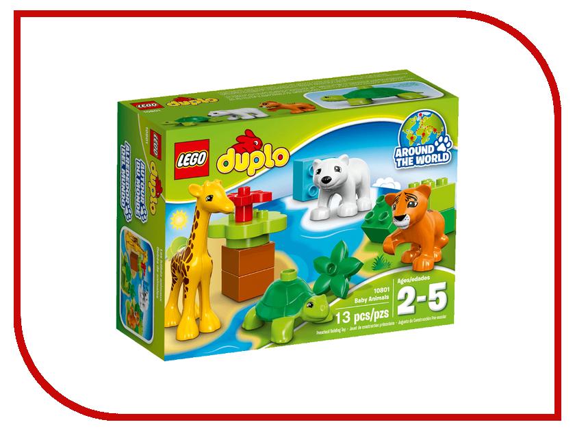 Конструктор Lego Duplo Дикие малыши 10801