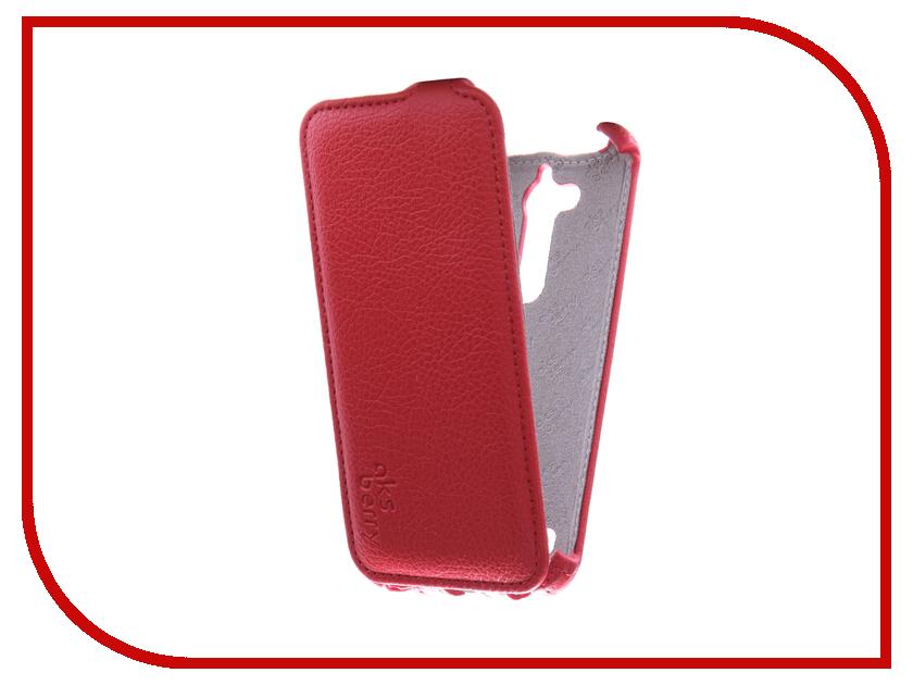 Аксессуар Чехол ASUS ZenFone Go ZB500KG Aksberry Red zb500kg 1c014ru